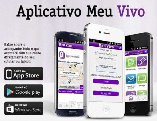 Cancelar VIVO via App
